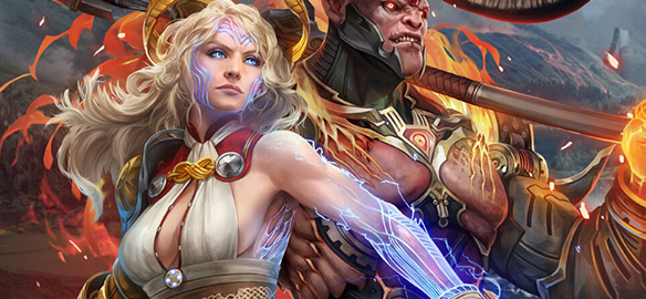 Игра Skyforge вышла на Playstation 4