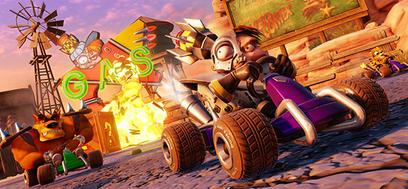 Трейлер игры Crash Team Racing Nitro-Fueled